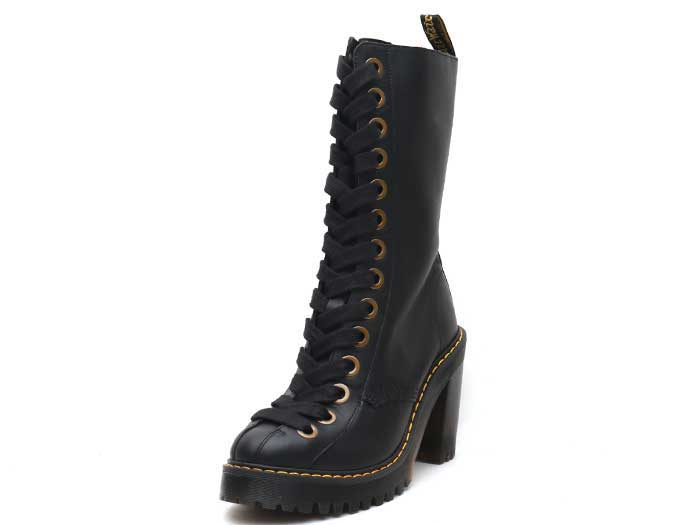SEIRENE CAREY 14EYE BOOT(24978001)BLACK SENDALのメイン商品写真