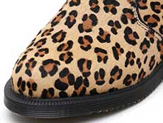 KENSINGTON FLORA HAIR ON CHELSEA BOOT(25021927)MEDIUM LEOPARD HAIR ONのトゥ部分イメージ