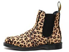KENSINGTON FLORA HAIR ON CHELSEA BOOT(25021927)MEDIUM LEOPARD HAIR ONの左横向きイメージ