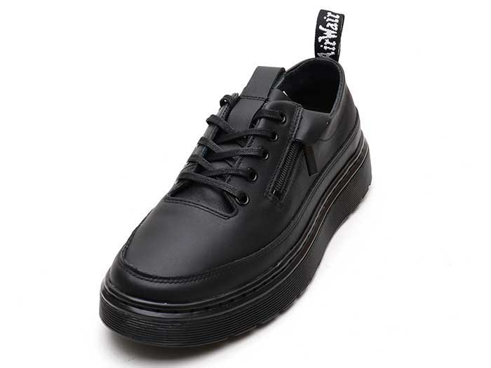 VIBE DANTE ZIP Ⅱ 6EYE SHOE(25043001)BLACK SOFTY Tのメイン商品写真