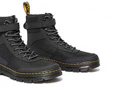TRACT COMBS TECH 7TIE BOOT(25215001)BLACK EXTRA TOUGH NYLON+AJAXのトゥ部分イメージ