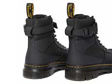 TRACT COMBS TECH 7TIE BOOT(25215001)BLACK EXTRA TOUGH NYLON+AJAXの右斜め後ろ向きイメージ