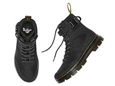 TRACT COMBS TECH 7TIE BOOT(25215001)BLACK EXTRA TOUGH NYLON+AJAXのヒール部分イメージ