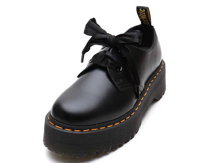 QUAD RETRO HOLLY 2EYE SHOE(25234001)BLACK BUTTEROのメイン商品写真
