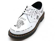 CORE PRINT 1461 SCRIBBLE 3EYE SHOE(25246101)WHITE+BLACK SCRIBBLE BACKHAND詳細ページへ