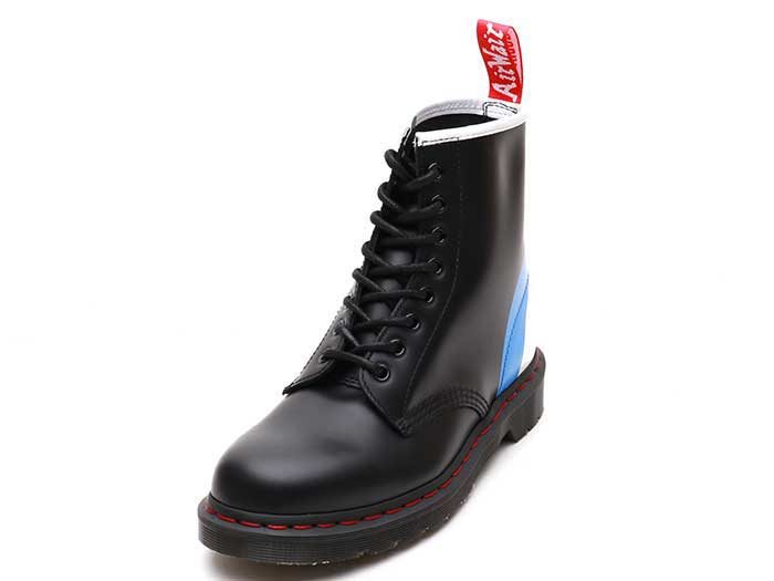 COLLABORATIONS 1460 WHO 8EYE BOOT(25268001)BLACK TARGET SMOOTHの商品メイン写真