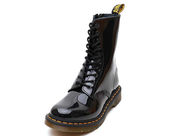 CORE 1490 10EYE BOOT(25277001)BLACK PATENTのメイン商品写真