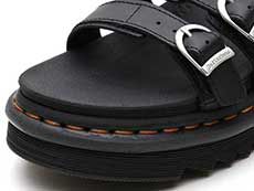 ZEBRILUS BLAIR SLIDE SANDAL(25456001)BLACK トゥ部分イメージ