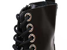 QUAD RETRO MAX JADON MAX STUD 8EYE BOOT(25458001)BLACK BUTTEROのホール部分イメージ
