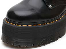 QUAD RETRO MAX JADON MAX 8EYE BOOT(25566001)BLACK BUTTEROのトゥ部分イメージ