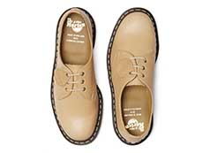 MIE FASION 1461 3EYE SHOE(25569216)NATURAL ESSEX VEGTANの上からの写真