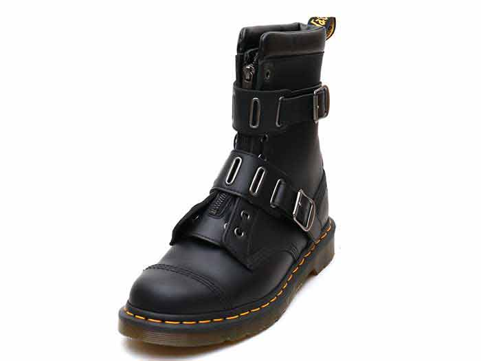 CORE ALT QUYNN JUNGLE BOOT(25601001)BLACK ROLLED SMOOTHのメイン商品写真