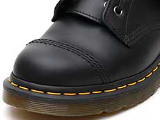 CORE ALT QUYNN JUNGLE BOOT(25601001)BLACK ROLLED SMOOTHのトゥ部分イメージ