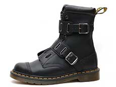 CORE ALT QUYNN JUNGLE BOOT(25601001)BLACK ROLLED SMOOTHの左横向きイメージ