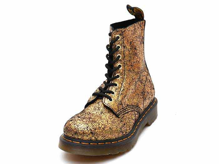 CORE 1460 PASCAL 8EYE BOOT(25727710)GOLD IRIDESCENT CRACKLEのメイン商品写真