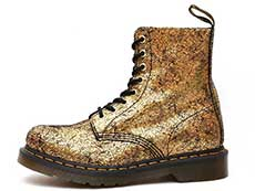 CORE 1460 PASCAL 8EYE BOOT(25727710)GOLD IRIDESCENT CRACKLEの左横向き写真