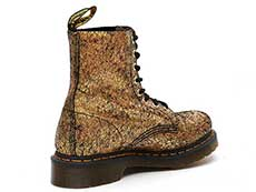CORE 1460 PASCAL 8EYE BOOT(25727710)GOLD IRIDESCENT CRACKLEの斜め右後ろ向き写真