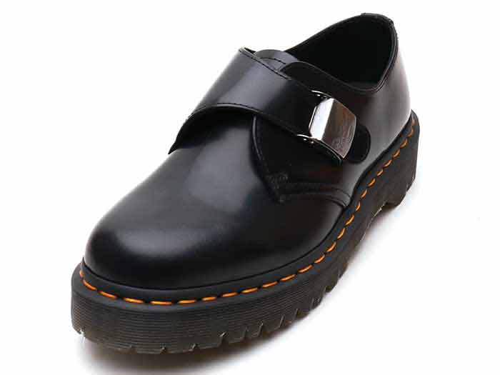CORE BEX FENIMORE LOW STRAP SHOE(25751001)BLACK POLISHED SMOOTHのメイン商品写真