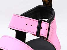ZEBRILUS BLAIRE CHUNKY 3STRAP SANDAL(25768976)PINK LEMONADE HYDRO ベルト部分イメージ