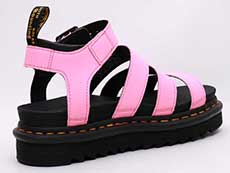 ZEBRILUS BLAIRE CHUNKY 3STRAP SANDAL(25768976)PINK LEMONADE HYDRO 斜め後ろ向きイメージ