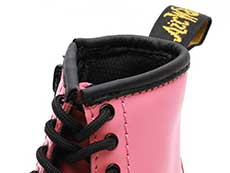 CORE KIDS 1460T INFANTS LACE BOOT(25810653)ACID PINK ROMARIO(SMOOTHER FINISH)の履き口部分写真