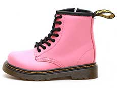 CORE KIDS 1460T INFANTS LACE BOOT(25810653)ACID PINK ROMARIO(SMOOTHER FINISH)の左横向き写真