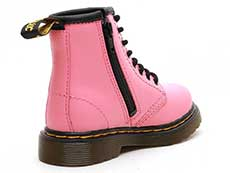 CORE KIDS 1460T INFANTS LACE BOOT(25810653)ACID PINK ROMARIO(SMOOTHER FINISH)の右斜め後ろ向き写真