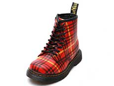 CORE KIDS 1460 TARTAN T INFANTS LACE BOOT(25833602)RED+MULTI TARTAN BACKHAND STRAW GRAIN 詳細ページへ