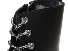 HELLO KITTY JADON Ⅱ HK 8EYE BOOT(25913001)BLACK POLISHED SMOOTHのホール部分イメージ
