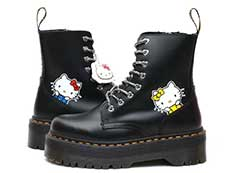 HELLO KITTY JADON Ⅱ HK 8EYE BOOT(25913001)BLACK POLISHED SMOOTHの左横向きイメージ