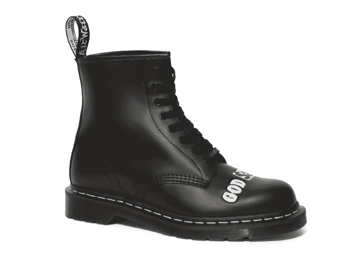 COLLABORATIONS 1460 SEX PISTOLS 8EYE BOOT(25927001)BLACK MILLED SMOOTHの商品メイン写真