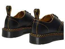 CORE BEX 1461 BEX DS 3EYE SHOE(25951032)BLACK/YELLOW SMOOTH SLICEの右斜め後ろ向き写真