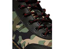 TRACT COMBS TECH 7TIE BOOT(26008001)BLACK+CAMO ELEMENT+POLYのホール部分写真