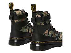TRACT COMBS TECH 7TIE BOOT(26008001)BLACK+CAMO ELEMENT+POLYの右斜め後ろ向き写真