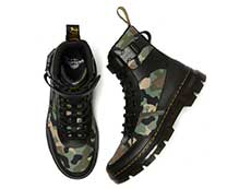 TRACT COMBS TECH 7TIE BOOT(26008001)BLACK+CAMO ELEMENT+POLYの上からの写真