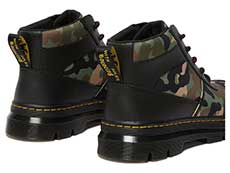 TRACT BONNY TECH 5EYE BOOT(26009001)BLACK+CAMO ELEMENT+POLYの右斜め後ろ向き写真