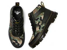 TRACT BONNY TECH 5EYE BOOT(26009001)BLACK+CAMO ELEMENT+POLYの上からの写真