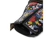 CORE PRINT KIDS 1460 WANDERFLORA J LACE BOOT YOUTH(26046001)BLACK HYDROの履き口部分写真