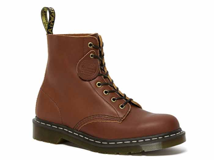 MIE FASHION 1460 PASCAL 8EYE BOOT(26053220)TAN ESSEX VEG TANの商品メイン写真