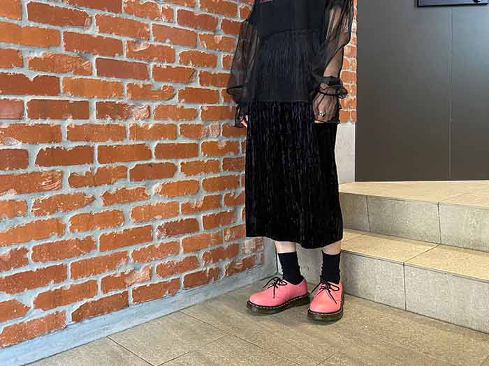 ICONS 1461 3EYE SHOE(26072653)ACID PINKのメインイメージ