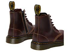 CORE KIDS 1460 PASCAL T INFANTS LACE BOOT(26189601)OXBLOOD PABLOの右斜め後ろ向き写真