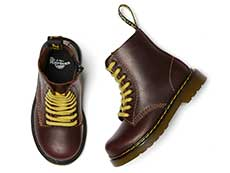 CORE KIDS 1460 PASCAL T INFANTS LACE BOOT(26189601)OXBLOOD PABLOの上からの写真