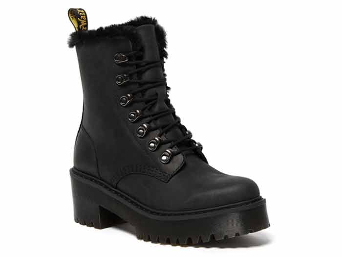 SANGUINE LEONA FL 7TIE BOOT(26190001)BLACK MALDOVA WPのメイン商品写真