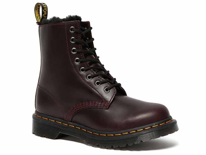 FUR LINED 1460 SERENA 8EYE BOOT(26238601)OXBLOOD ATLASのメイン商品写真
