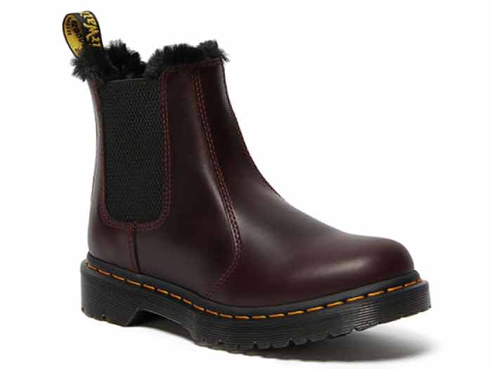 FUR LINED 2976 LEONORE CHELSEA BOOT(26332601)OXBLOOD ATLASのメイン商品写真