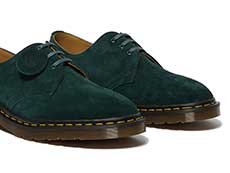 MIE FASHION 1461 3EYE SHOE(26335370)GREEN NIGHTの右斜め前からの写真