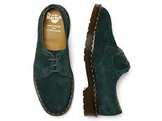 MIE FASHION 1461 3EYE SHOE(26335370)GREEN NIGHTの上からの写真