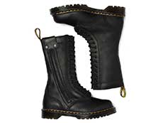 CORE ALT HANLEY 14EYE BOOT(26360001)BLACK LUXORの上からの写真