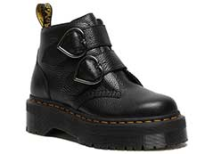 QUAD RETRO DEVON HEART 2STRAP BOOT(26439001)BLACK MILLED NAPPA 詳細ページへ