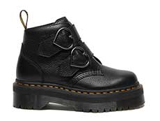 QUAD RETRO DEVON HEART 2STRAP BOOT(26439001)BLACK MILLED NAPPAの右横向き写真